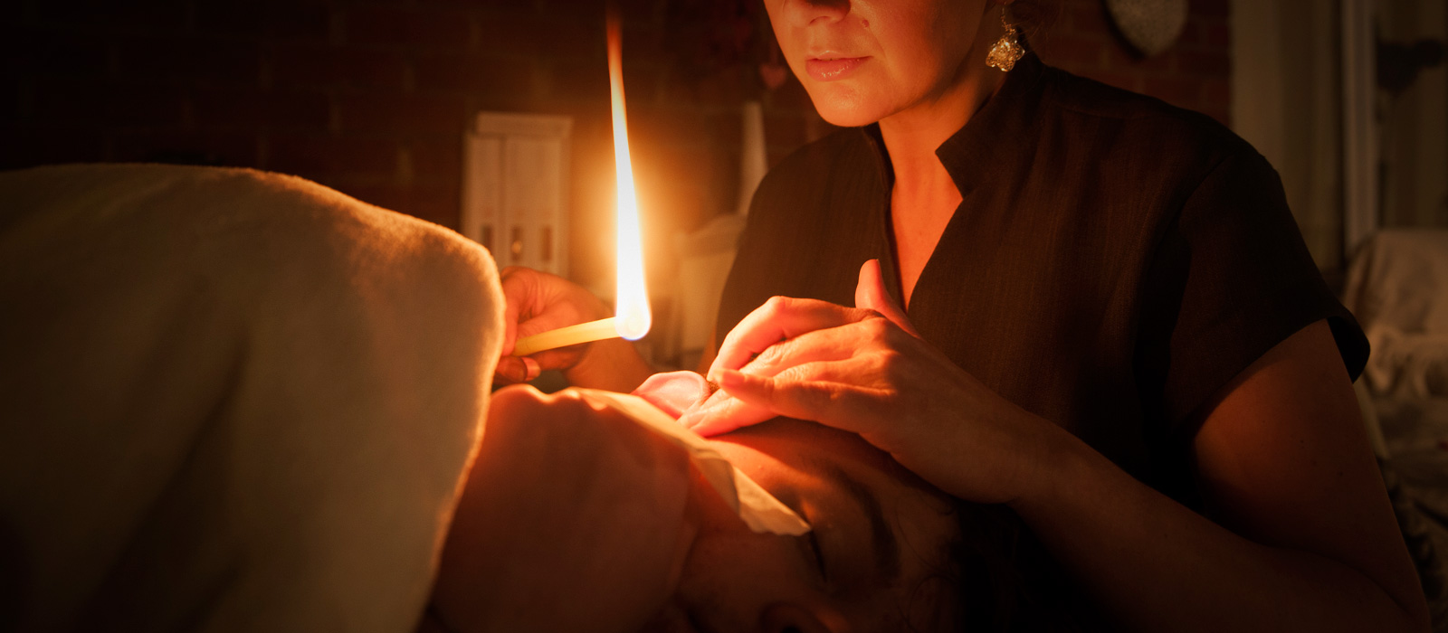 Hopi ear candle treatment in Loughborough, Leicestershire